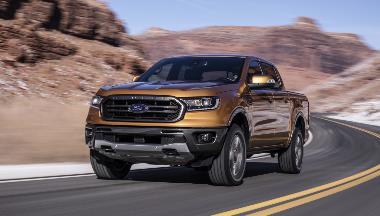 5. 2019_Ford_Ranger_front_left